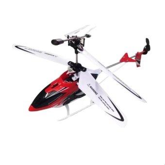 Máy bay trực thăng điều khiển từ xa 3D-W25 (Đỏ)