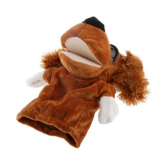 BolehDeals Hand Puppet Animals Toy Feather Ears Dog - Intl