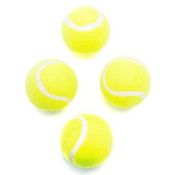 Bộ 4 bóng tennis Uncle-Bills LS0002 (Xanh lá)