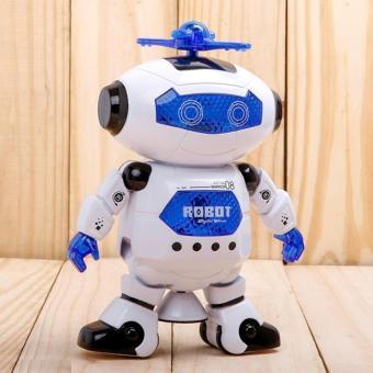 Robot nhảy múa phát nhạc xoay 360 độ cho bé yêu