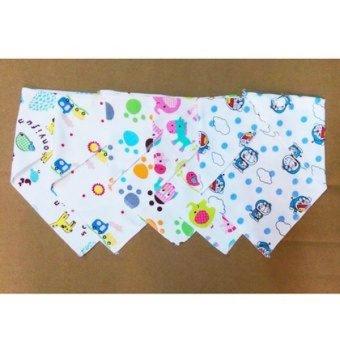 Bộ 5 khăn yếm tam giác mền mịn cho bé