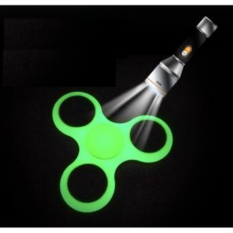 Đồ Chơi Giúp Xả Stress Fidget Spinner DẠ QUANG (XANH LÁ)