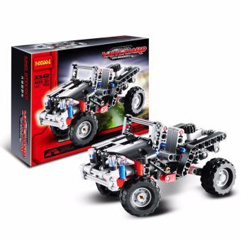 Bộ đồ chơi lắp ráp xe đua OFF ROADER 3342
