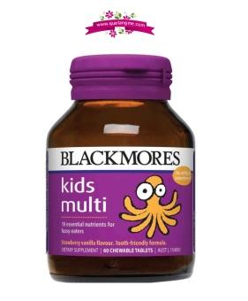Kẹo Blackmores Kids Multi bổ sung vitamin tổng hợp cho trẻ biếng ăn
