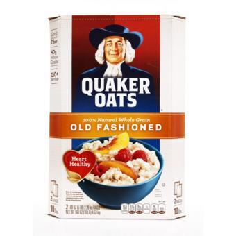 Yến Mạch Quaker oats (dạng cán mỏng) 4.52kg