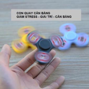 Con quay 03 cánh FIDGET SPINNER - Giải tỏa Căng thẳng, Stress (Siêu khuyến mại)