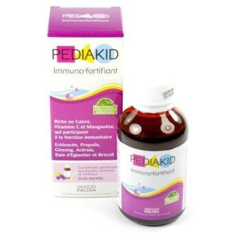 Siro tăng cường sức đề kháng cho trẻ 125ml PEDIAKID IMMUNO FORT