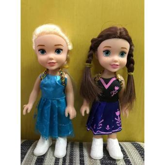 Combo 2 Búp bê công chúa Frozen Disney Hot 2017