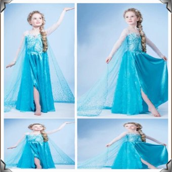 Đầm công chúa bé gái elsa D182