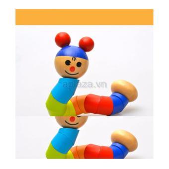 Đồ chơi con sâu gỗ DG1-015