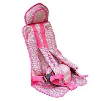 Ghế ngồi ô tô cho bé an toàn HQ STORE 1TI16-3 (Hồng)