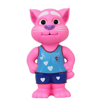 Mèo Tom Thông Minh Biết Kể Chuyện Nhại Tiếng Cảm Ứng (Mặc Áo)