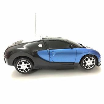 Xe Ô tô biến hình thành Robot chạy pin, phát nhạc cho bé yêu (MA ROBOT)