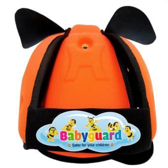 Nón Bảo Hiểm Bảo Vệ Đầu Em Bé Tập Đi Babyguard (Cam)