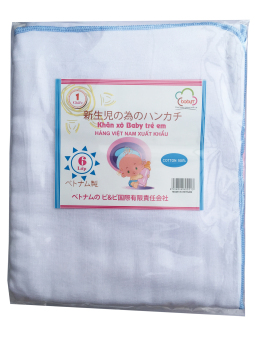 Khăn tắm 06 lớp 90x72(cm) 100% cotton