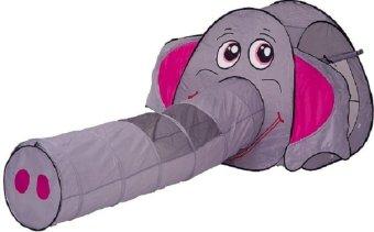 Lều bóng của bé ống chui hình con voi