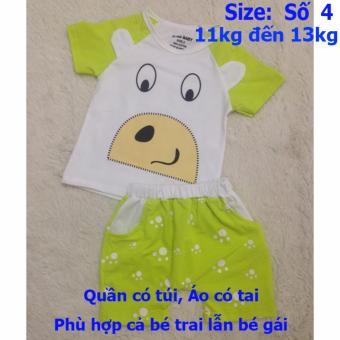Quần áo trẻ em CityKids BTE027 (Màu xanh)