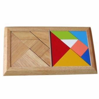 Đồ chơi gỗ Tangram, đôi (61172)