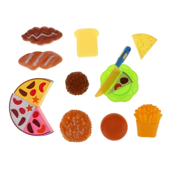 BolehDeals Kids Pretend Play Toy Cutting Cake Set 14pcs - Intl