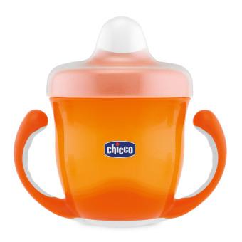 Bình uống nước 12M+ Chicco 113506 (Cam)