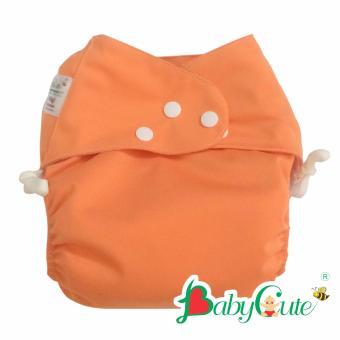 Bộ tã vải ngày BabyCute size S (3-9kg) Cam