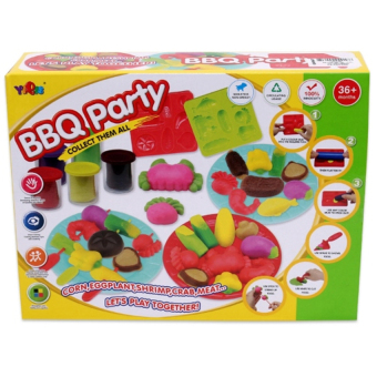 Đồ chơi đất nặn BBQ Party 5807B