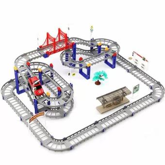 Ô TÔ TÀU LƯỢN - Bộ đồ chơi lắp ráp đường ray cực hấp dẫn cho bé