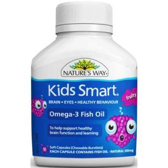 Kẹo kids smart Omega3 fruity flavour 50 viên
