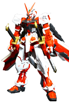 Mô Hình Lắp Ráp Master Grade Gundam Astray Red Frame Kai