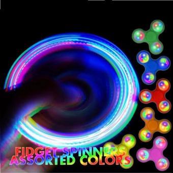 Con quay FIDGET SPINNER CÓ ĐÈN LED : Giải tỏa căng thẳng, stress