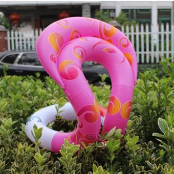 Áo phao tập bơi - Size S Màu Hồng