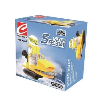 Bộ lắp ráp Super SpeedBoat Companion SPK906 (Vàng)