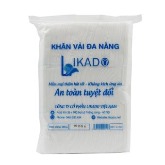 Bộ 5 Bịch Khăn vải khô đa năng likado 300g