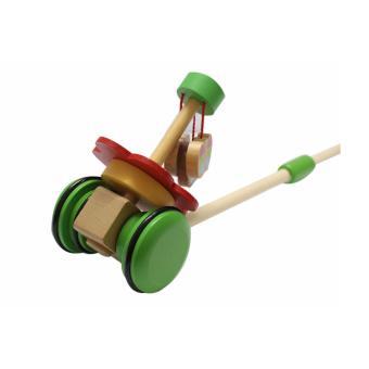 Đồ chơi gỗ xe đẩy đơn cực hình bướm DG1-061