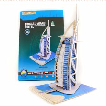 Bộ xếp hình 3D khách sạn Dubai Burj Al Arab