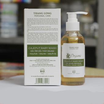 Sữa tắm dầu tràm cho bé Organic 150ml