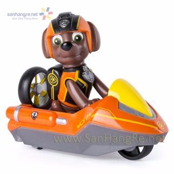 Đồ chơi Paw Patrol xe ca nô và chó Zuma 07 (Orange)