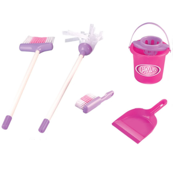 5 PCS Set Kids Children Cleaning Play Toy Set Housekeeping Toy Educational Toy