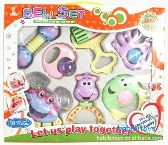 Bộ đồ chơi lúc lắc 7 món cho bé