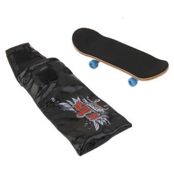 Wooden Fingerboard Skateboard Sport Games Kids Gift - Intl
