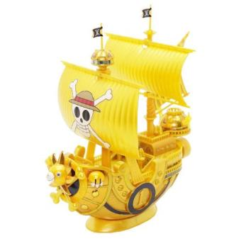 Mô hình lắp ráp Bandai Model Kit One Piece Thousand-Sunny `Film Gold` Release Anniversary Color Ver