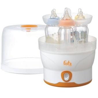 Máy tiệt trùng điện tử 6 bình Fatzbaby FB4028SL (Trắng phối cam)