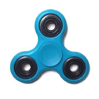 Đồ Chơi Con Quay Giúp Xả Stress Fidget Spinner xanh