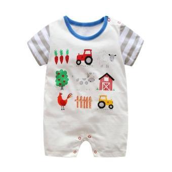 Body đùi First Movement size cho bé 3-18 tháng Farm