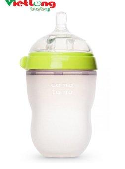 Bình sữa silicone Comotomo 250ml- Xanh CT00013