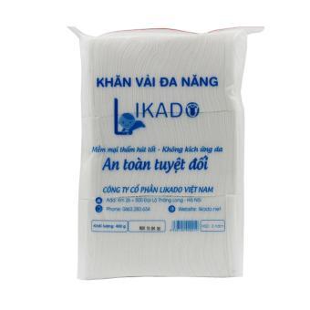 Bộ 6 Bịch Khăn vải khô đa năng likado 15x20 – 400g
