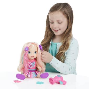 Bộ đồ chơi búp bê làm điệu cùng bé Christina BABY ALIVE B1448
