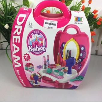 Bộ đồ chơi trang điểm có hộp cho bé gái