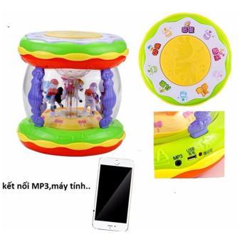 Bộ đồ chơi trống nhạc kết nối điện thoại cho bé