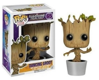 Fancyqube Anime Brand Funko POP Marvel Groot Dancing Potted Trees